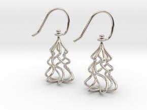 Christmas Tree Twirl in Platinum
