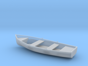 Best Detail 1/20 12'' Wherry (Wood) in Smooth Fine Detail Plastic