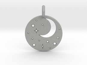 Starry Night Pendant in Aluminum