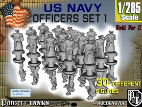 1-285 USN Officers Set 1 in Frosted Extreme Detail