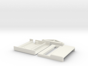 Commodore 64 Mini X-Pander Case in White Natural Versatile Plastic