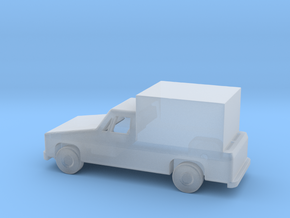 1/144 Scale Pickup With Box in Smooth Fine Detail Plastic