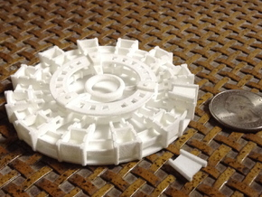 Arc Reactor v1.2 in White Strong & Flexible