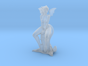 Kandi the Succubus Cleric NUDE - 40mm Mini in Smooth Fine Detail Plastic