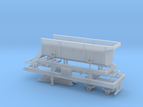 187th Portable Screen Plant in Smooth Fine Detail Plastic