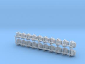 1-24 Halogen Heads Adj Base X20 in Smooth Fine Detail Plastic