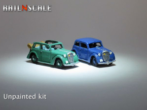 Opel Olympia SET (N 1:160) in Smooth Fine Detail Plastic