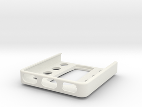 iPhone 5 /SE (without case) Navigon mount in White Natural Versatile Plastic