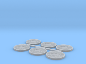 Toronto Style Manhole (HO Scale) in Smooth Fine Detail Plastic