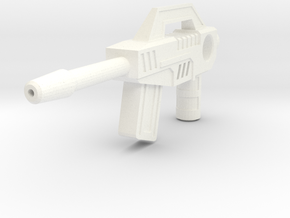TR: Blurrpistol for Blurr in White Processed Versatile Plastic