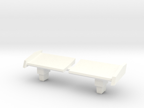 TR: Breakawaytail for Breakaway in White Processed Versatile Plastic