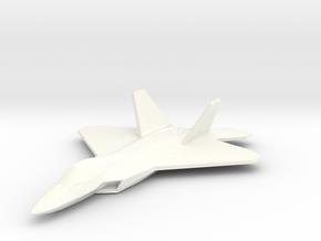 F22Fullfixed in White Processed Versatile Plastic