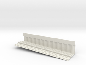 MARKET SUBWAY EL INCLINE 6 PT2 HO SCALE in White Natural Versatile Plastic