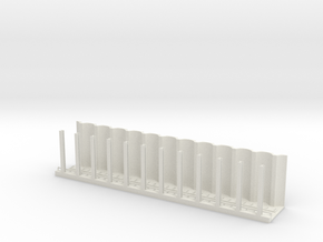 MARKET SUBWAY EL HO SCALE 1 Track  in White Strong & Flexible