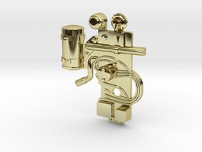 Tamiya Centurion Greebly #1 in 18k Gold Plated Brass