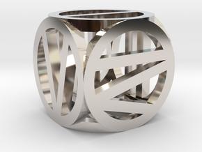 d6 circled Roman number in Platinum