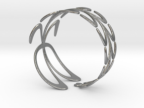 Ficoni Bracelet in Natural Silver