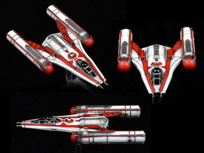 R2CW Y-Wing 3-pack in Frosted Extreme Detail