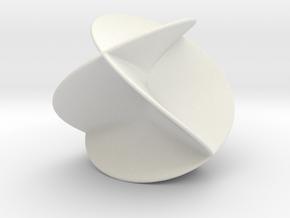 Henneberg surface in White Natural Versatile Plastic