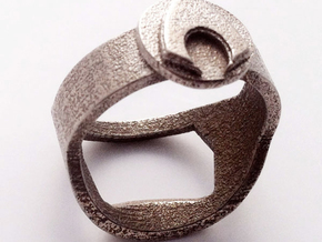 Aquaman Bottle Opening Ring in Stainless Steel