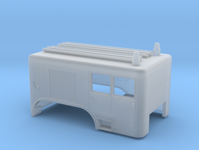 Brandweer Auto 1:87 Kap voor de Dikke Daf in Smooth Fine Detail Plastic