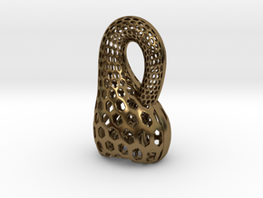 Klein Bottle Opener in Polished Bronze
