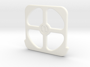 E-REVO Mamba Monster 2 Top Spacer in White Strong & Flexible Polished