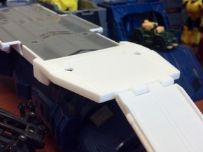 Titans Return Fort Max Runway Ramp Connector in White Strong & Flexible