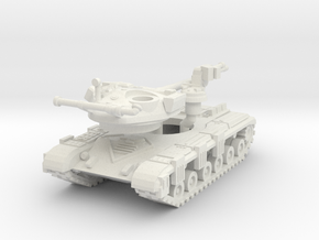 MG144-R17A T-64A (with gill armour) in White Natural Versatile Plastic