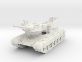MG144-R17A2 T-64A (with skirt) in White Natural Versatile Plastic