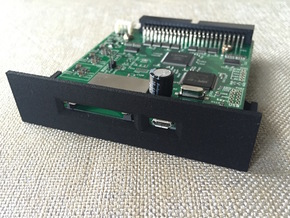 SCSI2SD V6 Bracket in Black Natural Versatile Plastic