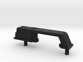 Door Handle D90 Team Raffee in Black Natural Versatile Plastic