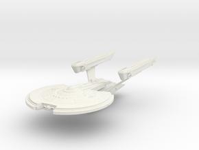 Norris Class  BattleCruiser in White Natural Versatile Plastic