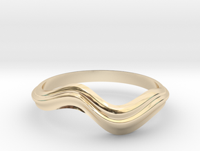 no.81 in 14k Gold Plated Brass: 5 / 49