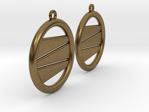 Earring GH Pair in Natural Bronze