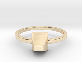 Gem No.1  in 14K Yellow Gold: 4 / 46.5