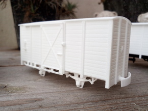 009 ZE CH72-91/G.A. 672-691  in White Processed Versatile Plastic