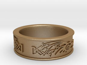Skyrim ring Dragonborn  in Stainless Steel