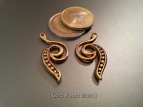 Seed Earrings in 18K Gold Plated