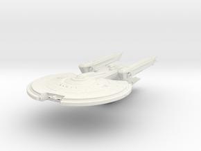 YorkTown Class VI Refit  HvyCruiser in White Natural Versatile Plastic