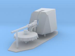 1:144 scale 76mm OTOBREDA Gun in Smooth Fine Detail Plastic