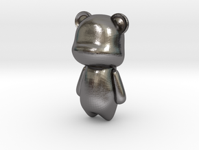 BEAR Pendant in Polished Nickel Steel