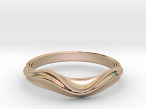 no.2 in 14k Rose Gold: 5 / 49