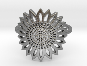 Sunflower (all size 4-13) in Raw Silver: 7 / 54