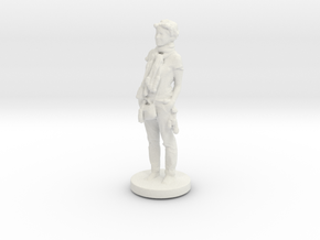 Printle C Femme 091- 1/64 in White Natural Versatile Plastic