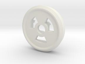 Trit Nuke Ring Part Slim in White Natural Versatile Plastic