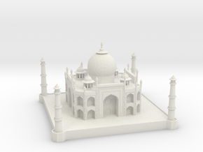 Taj Mahal in White Strong & Flexible