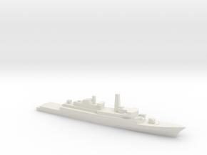 Type 21 frigate w/ Exocet AShM, 1/2400 in White Natural Versatile Plastic