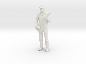 Printle C Homme 346-w/o base in White Strong & Flexible