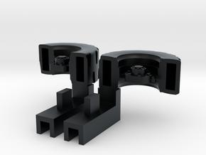 Ultra Magnus Arm Wheels (Deep Version) - For High  in Black Hi-Def Acrylate